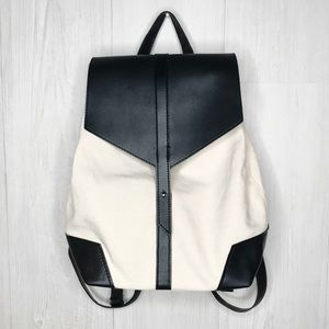 [Deux Lux] Canvas and Vegan Leather Mini Backpack